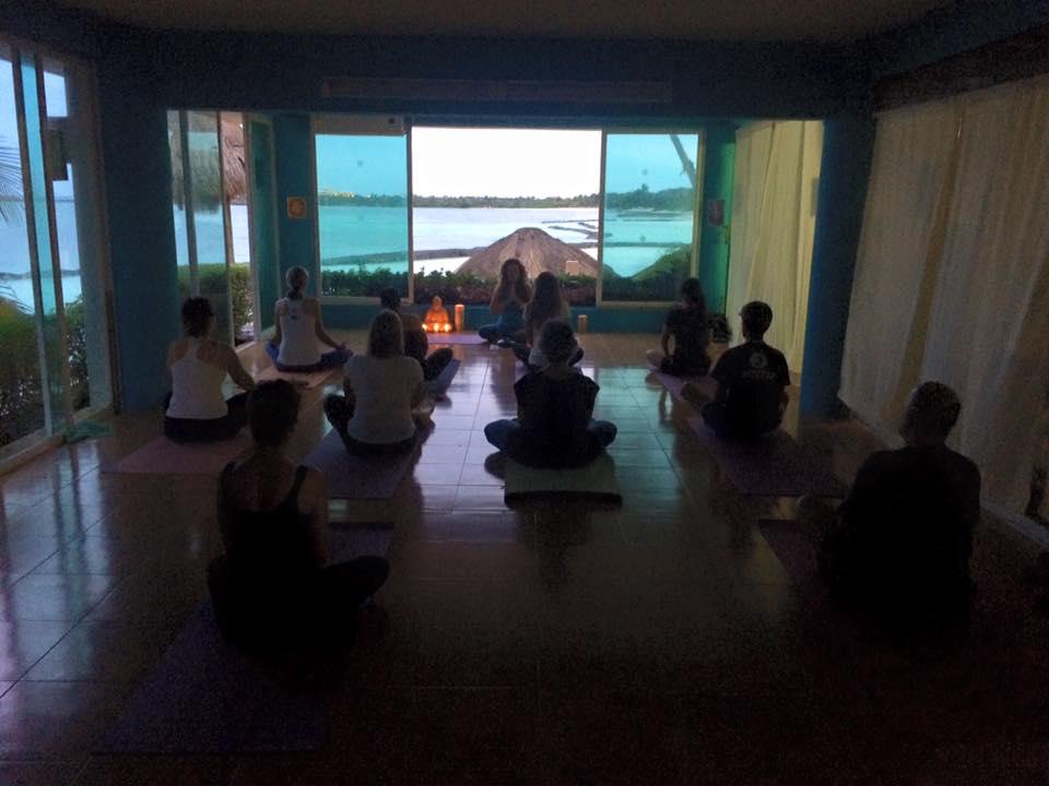 Yoga & Sound Healing Event Omni Centre Puerto Aventuras Mexico